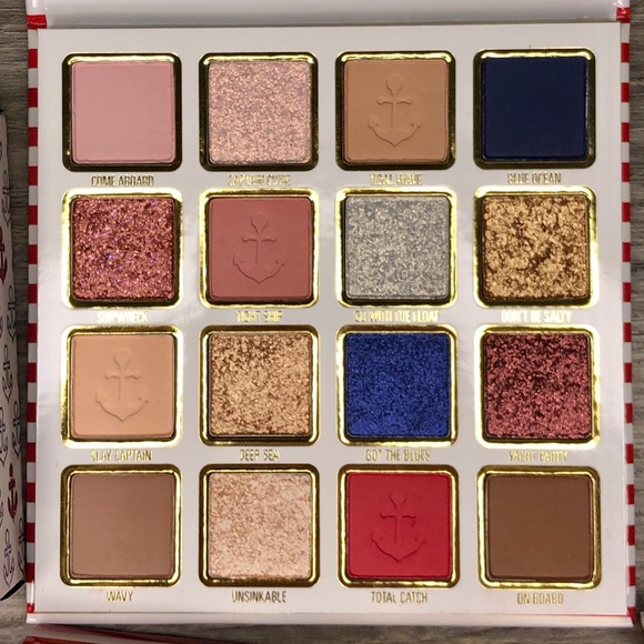 Kylie Cosmetics Other - Kylie Cosmetics Sailor Eyeshadow Palette